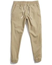 Pantalon de jogging brun clair