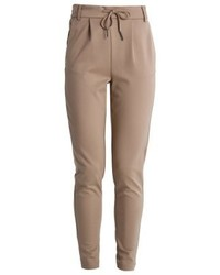 Pantalon de jogging brun clair Only