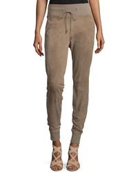 Pantalon de jogging brun