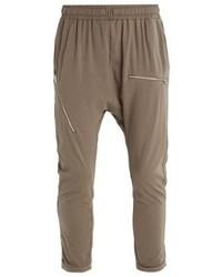 Pantalon de jogging brun Culture