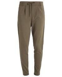 Pantalon de jogging brun Only