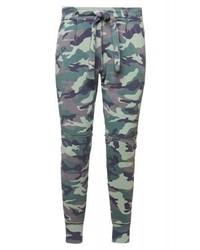 Pantalon de jogging camouflage gris True Religion