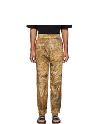 Pantalon de jogging camouflage marron clair