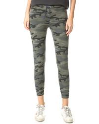 Pantalon de jogging camouflage olive Sundry