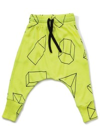 Pantalon de jogging chartreuse