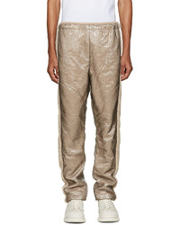 Pantalon de jogging en laine marron clair Cottweiler