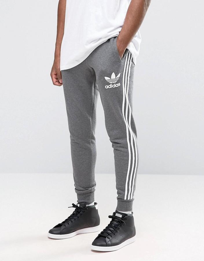 Pantalon de jogging gris foncé adidas
