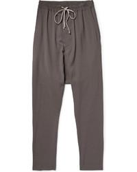 Pantalon de jogging gris foncé Rick Owens