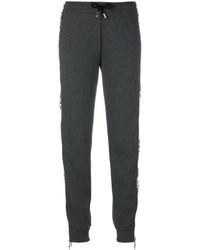 Pantalon de jogging gris foncé Versus