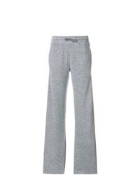 Pantalon de jogging gris Agnona