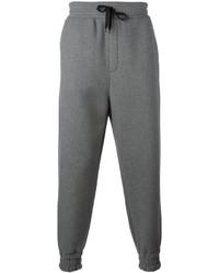 Pantalon de jogging gris AMI Alexandre Mattiussi