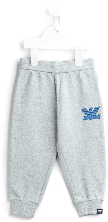 Pantalon de jogging gris Armani Junior