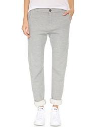Pantalon de jogging gris Current/Elliott