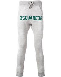 Pantalon de jogging gris DSQUARED2