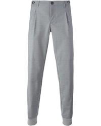 Pantalon de jogging gris Eleventy