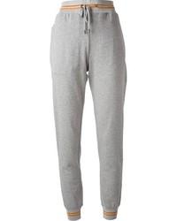 Pantalon de jogging gris Gucci