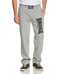 Pantalon de jogging gris Lonsdale