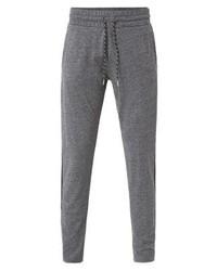 Pantalon de jogging gris Mango