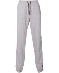 Pantalon de jogging gris Marcelo Burlon County of Milan