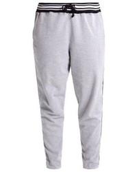 Pantalon de jogging gris Missguided