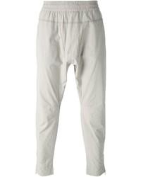 Pantalon de jogging gris Paolo Pecora