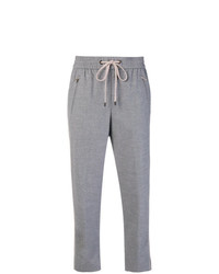 Pantalon de jogging gris Peserico