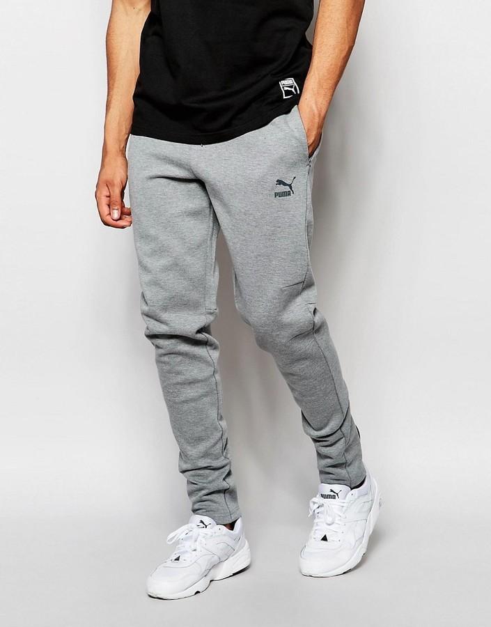 top brands classic fit famous brand €66, Pantalon de jogging gris Puma
