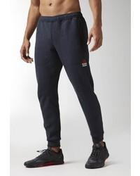 Pantalon de jogging gris Reebok