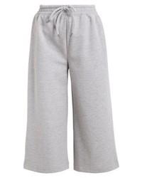 Pantalon de jogging gris Selected Femme