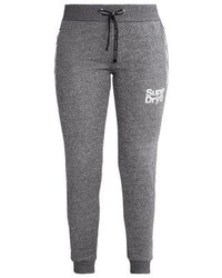 Pantalon de jogging gris Superdry