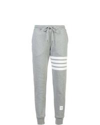 Pantalon de jogging gris Thom Browne