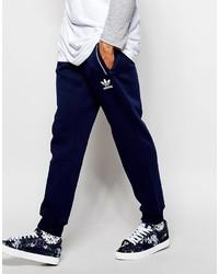 Pantalon de jogging imprimé bleu marine adidas