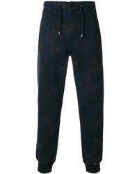 Pantalon de jogging imprimé bleu marine Etro