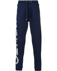 Pantalon de jogging imprimé bleu marine Kenzo