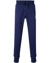 Pantalon de jogging imprimé bleu marine Love Moschino