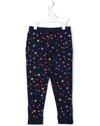 Pantalon de jogging imprimé bleu marine Stella McCartney