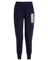 Pantalon de jogging imprimé bleu marine Tommy Hilfiger