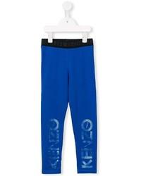 Pantalon de jogging imprimé bleu Kenzo