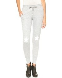 Pantalon de jogging imprimé gris