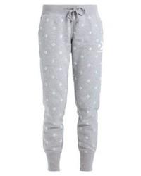 Pantalon de jogging imprimé gris Converse