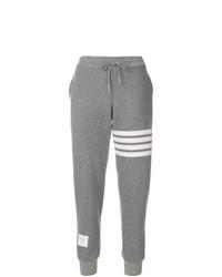 Pantalon de jogging imprimé gris Thom Browne
