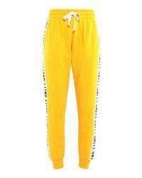 Pantalon de jogging imprimé jaune Bik Bok