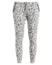Pantalon de jogging imprimé léopard gris Rich & Royal