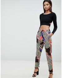 Pantalon de jogging imprimé multicolore ASOS DESIGN