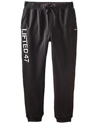 Pantalon de jogging imprimé noir et blanc