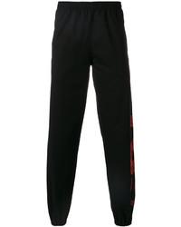 Pantalon de jogging imprimé noir Marcelo Burlon County of Milan