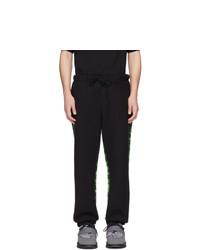 Pantalon de jogging imprimé noir Perks And Mini