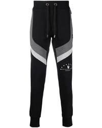 Pantalon de jogging imprimé noir Philipp Plein