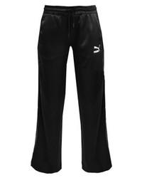 Pantalon de jogging imprimé noir Puma