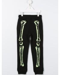 Pantalon de jogging imprimé noir Stella McCartney